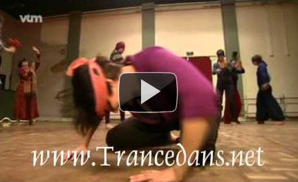Trancedans op YouTube - bron: VTM