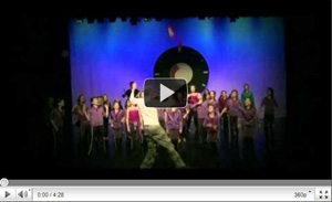 WCUD Danswedstrijd voor kinderen